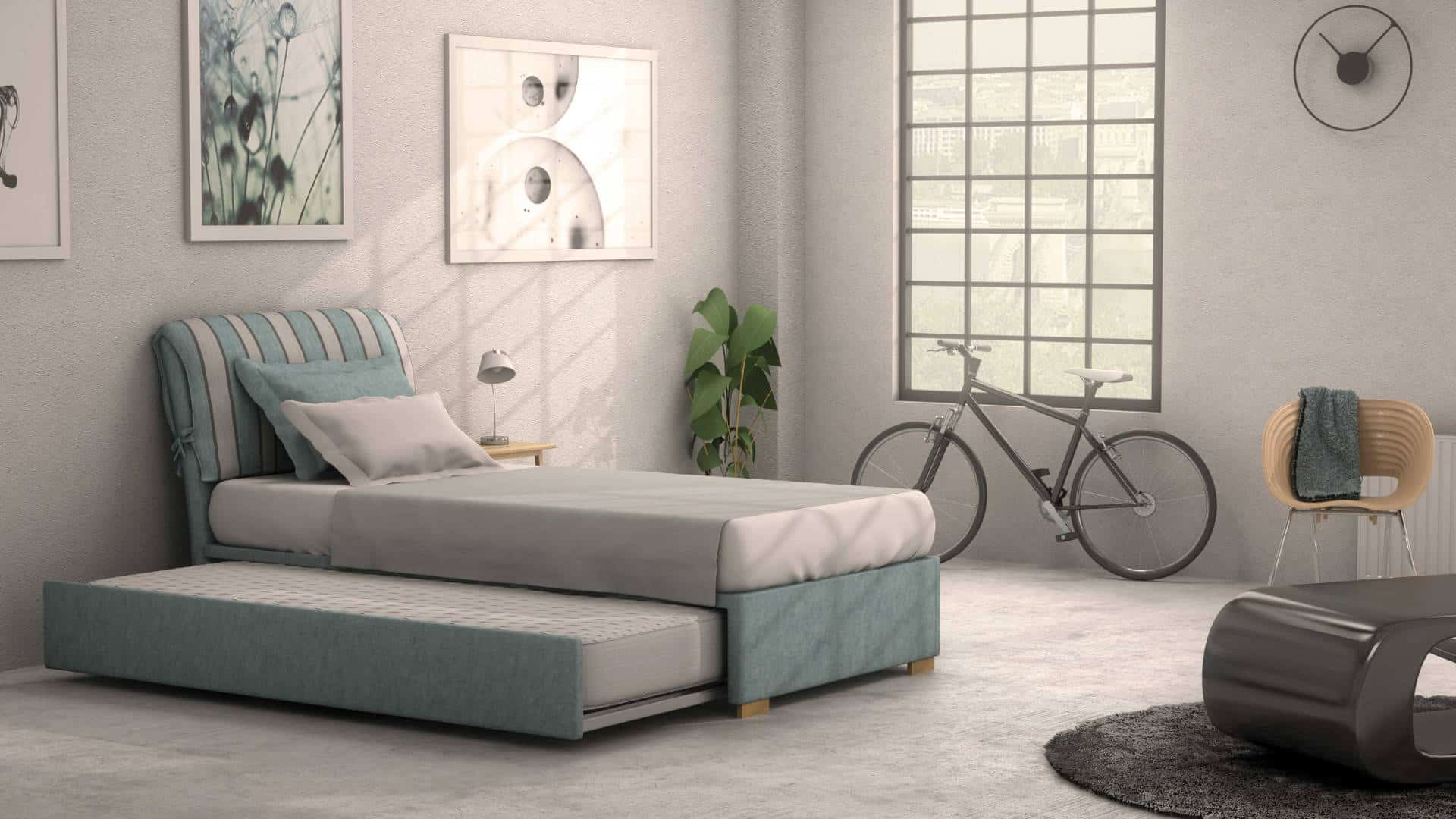 CURE Headboard With Core Smart Base