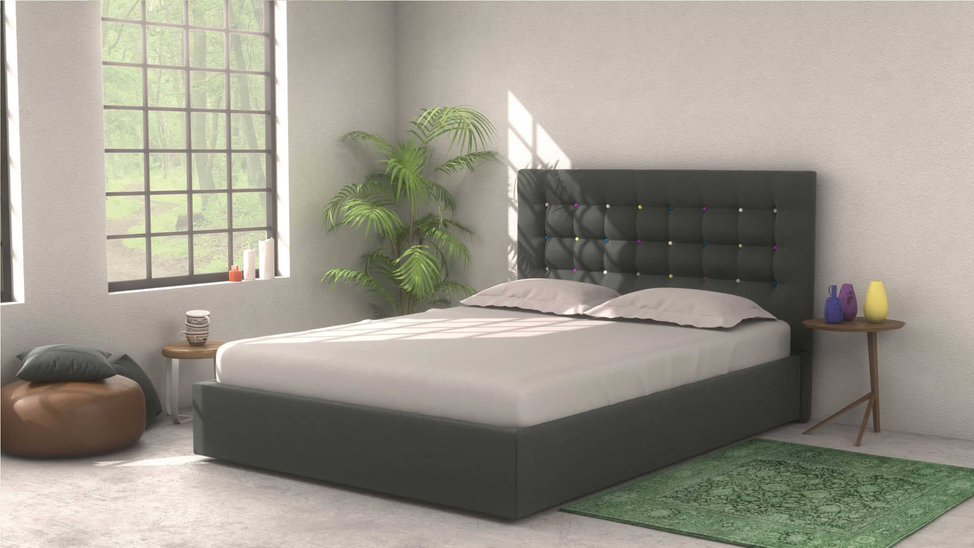 CHARLIE Headboard  with Core Supreme