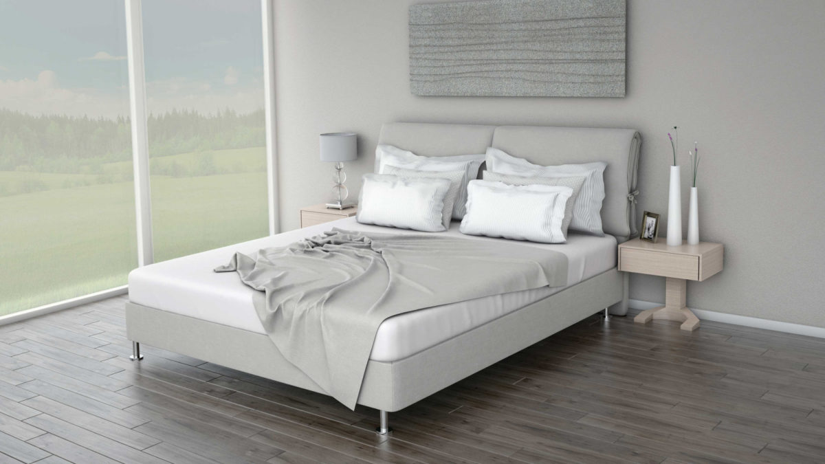 DOUDLE CURE Headboard With Core Standard Base