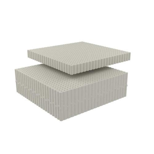 Dunlopillo fine gray
