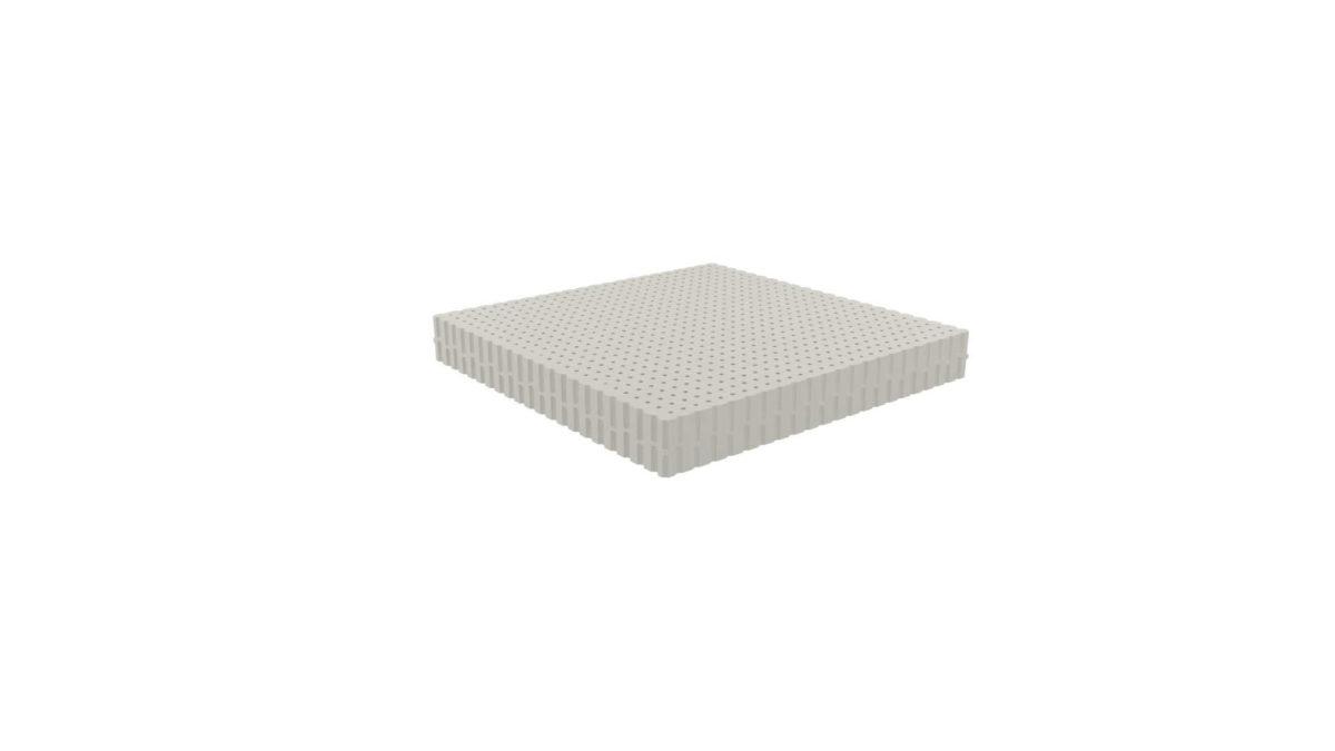 top gray mattress topper